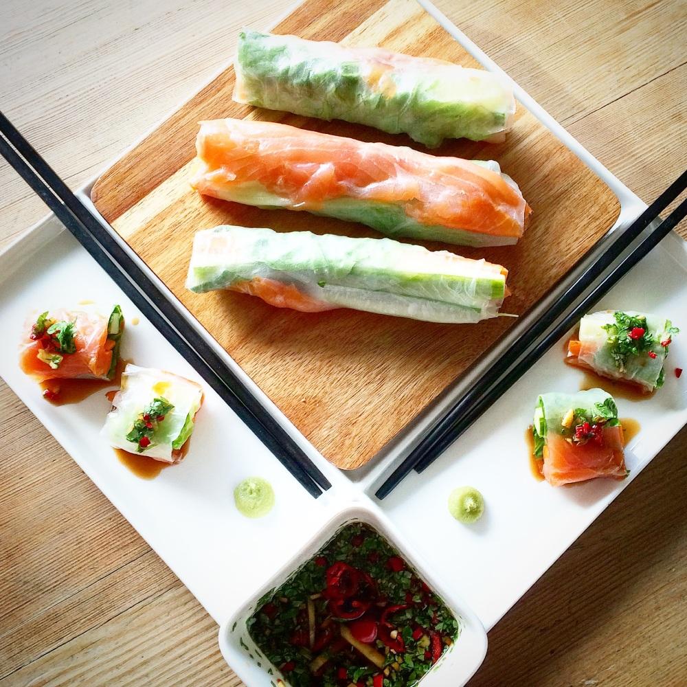 Sunn og enkel Sushi på 5 minutter (4/6)