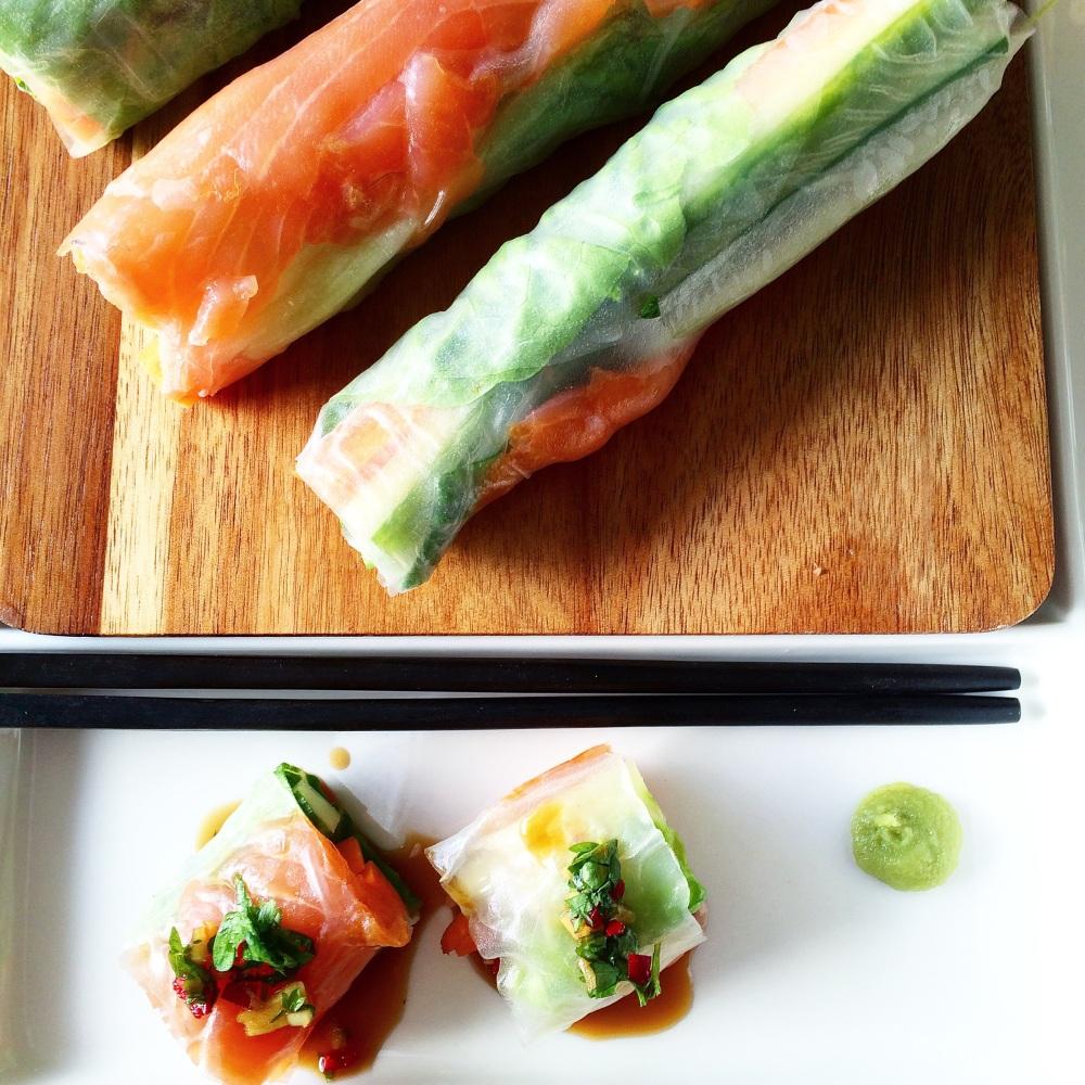 Sunn og enkel Sushi på 5 minutter (1/6)