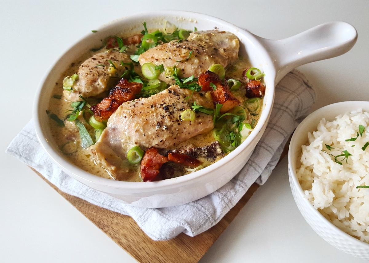Henrik's kylling og ris